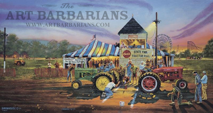 Tractor Pull Artwork : Wildlife art prints plus original paintings with a wide