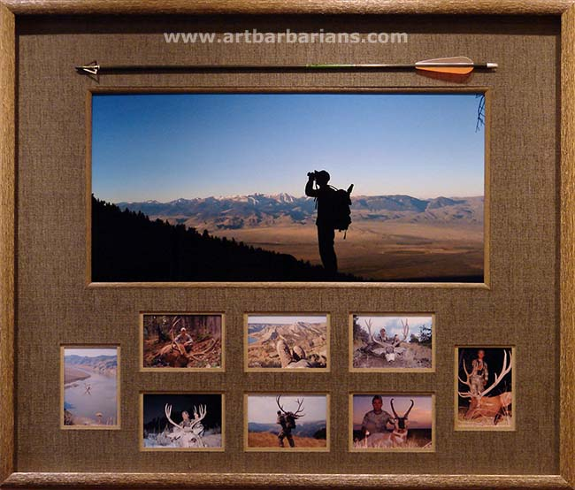 Unique Hunting Picture Frame Ideas Selection | Photo And Picture Ideas