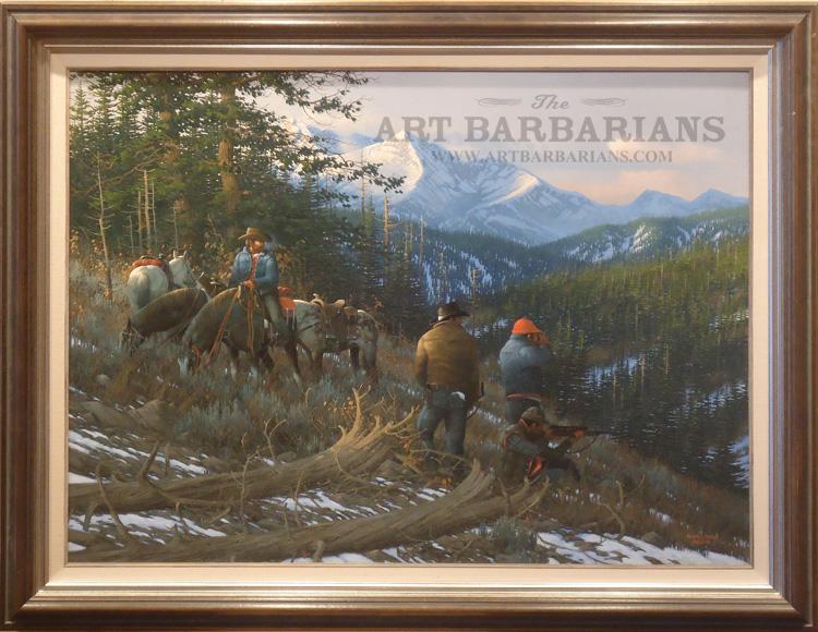 Ken Zylla Original Oil Painting