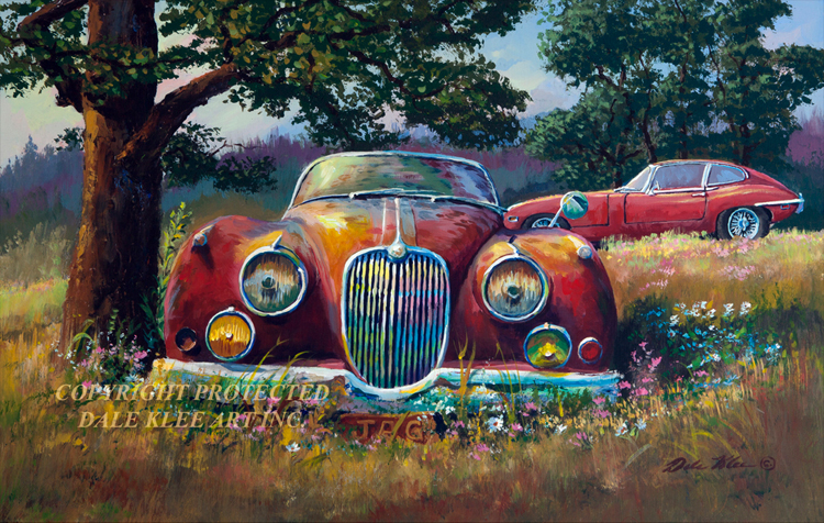 Man Cave Car Art : Wildlife art prints plus original paintings with a wide