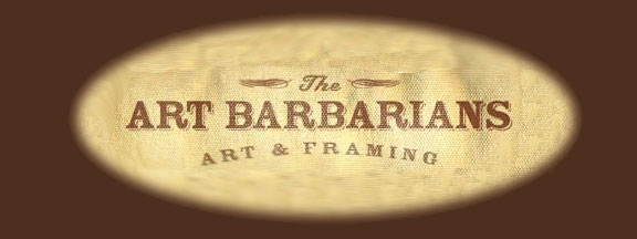 Art Barbarians original art and prints